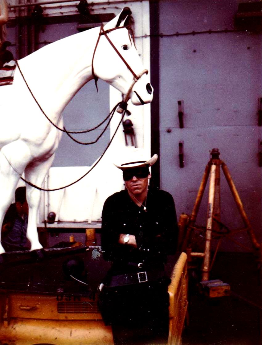 Steven Snow as the Lone Ranger 1969